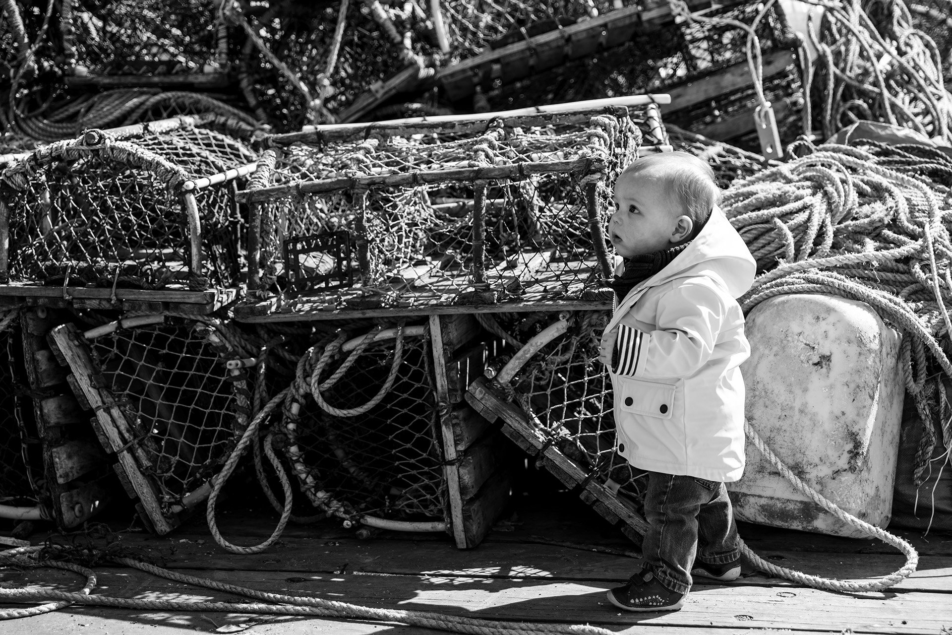 Sebbie The Fisherman BW 3 WR